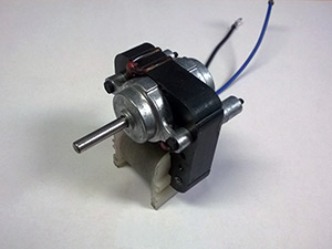 Small ac motor for in home products using fans